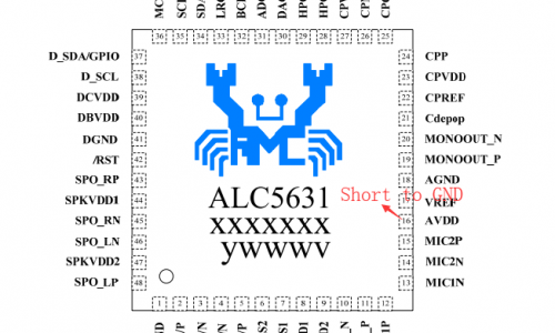 Serious Fake IC ALC5631Q from Realtek | Makerfabs
