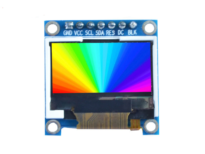 "0.96"" Color TFT LCD Display"