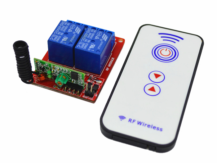2 Channel RF Remote Controller DC 5V