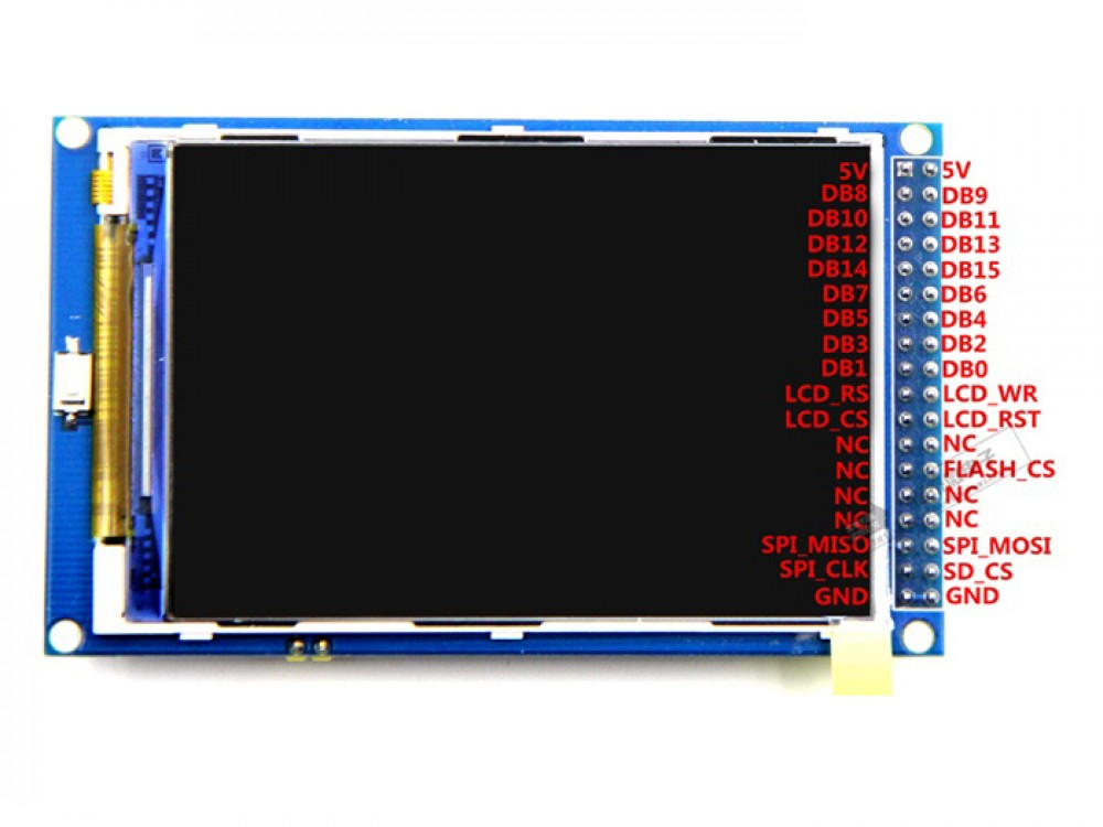 3 5 Inch Tft Display 480x320 For Mega