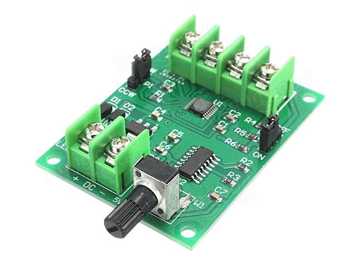 5V-12V DC Brushless Motor Driver 3/4 Wire