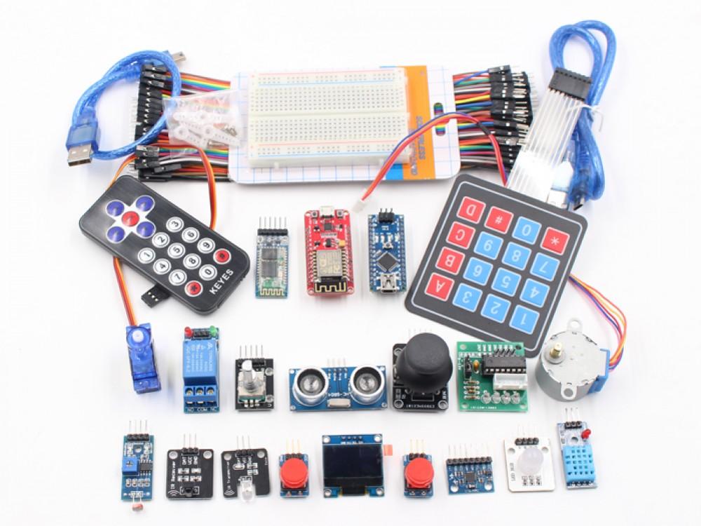 Arduino Nano With Nodemcu Iot Starter Kit Makerfabs