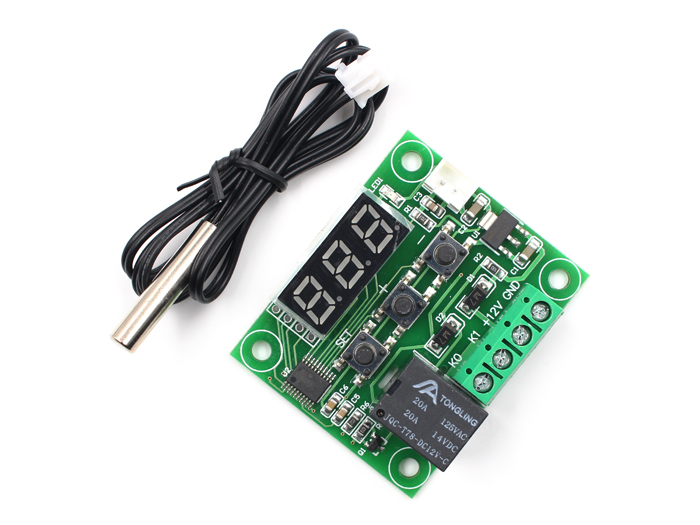 Integrated Temperature Board with Relay