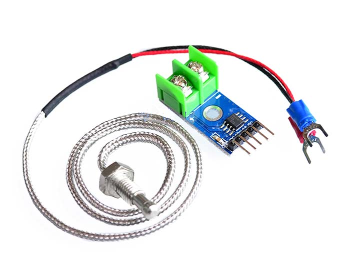 K-Type Thermocouple with MAX6675 A/D Module
