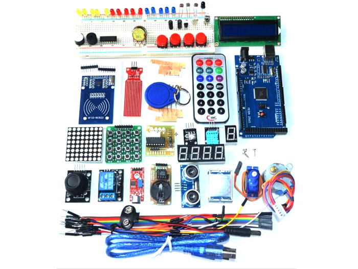Leaper - Upgraded Arduino RFID& Stepper Driver Learning Kit for Mega