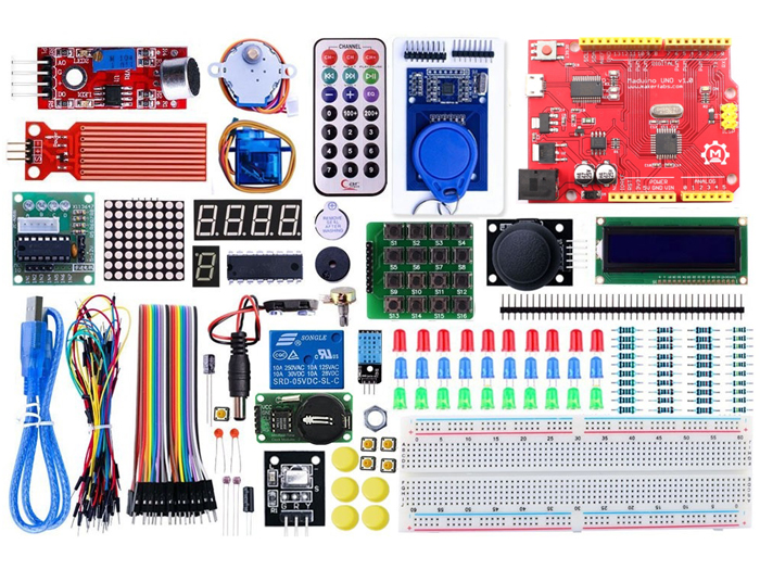 Leaper - Upgraded Arduino RFID& Stepper Driver Learning Kit