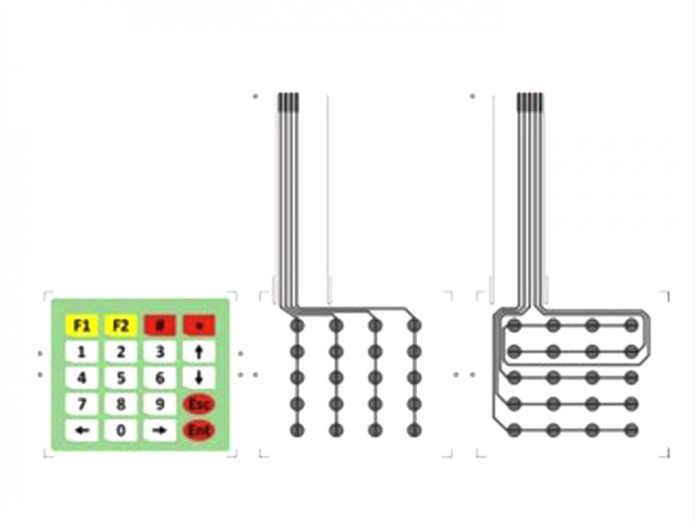 Membrane Keypad 4*5