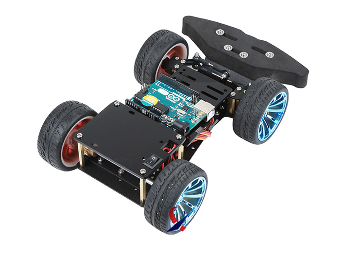 Metal Smart Racing Platform For Arduino/ Raspberry Pi