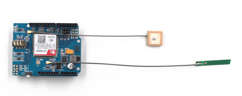 GPRS GSM GPS Shield (SIMCOME- SIM808) - MakerFabsWiki