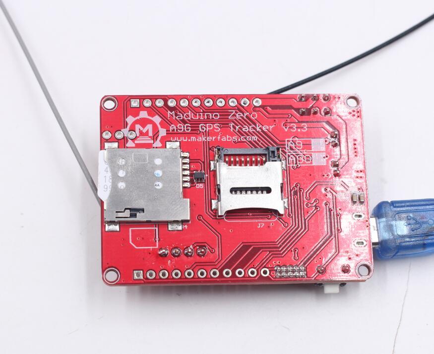 Maduino Zero A9G - MakerFabsWiki