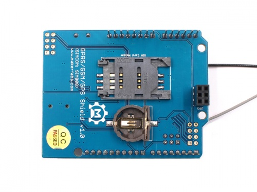 GPRS GSM GPS Shield (SIMCOME- SIM808) - MakerFabsWiki